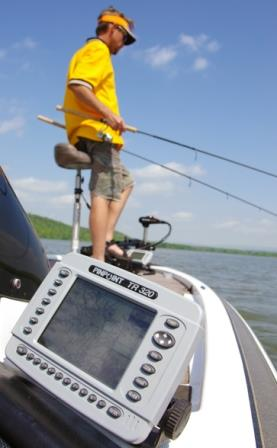 Sonar units and other electronic tools can help you catch spring crappies