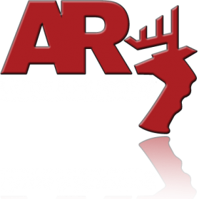 ar guns and hunting logo