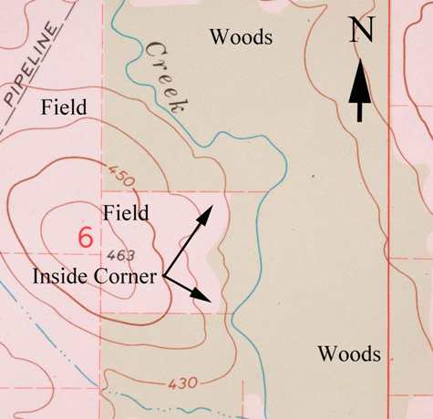 How to map trophy bucks, inside corners, by Brad Herndon