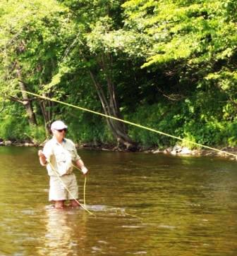 Fly fishing in western maine by william clunie havalon for Fly fishing maine
