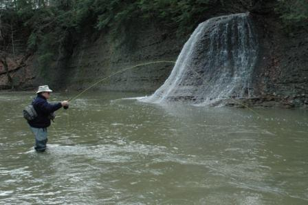 steelhead-fishing-the-great-lakes-mike-bleech-wading