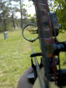 be familiar with sight pins and know limits