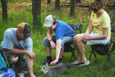 Take the family pet camping with you