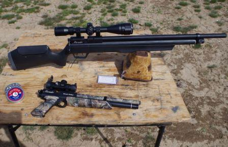 Two great airguns for hunting small game
