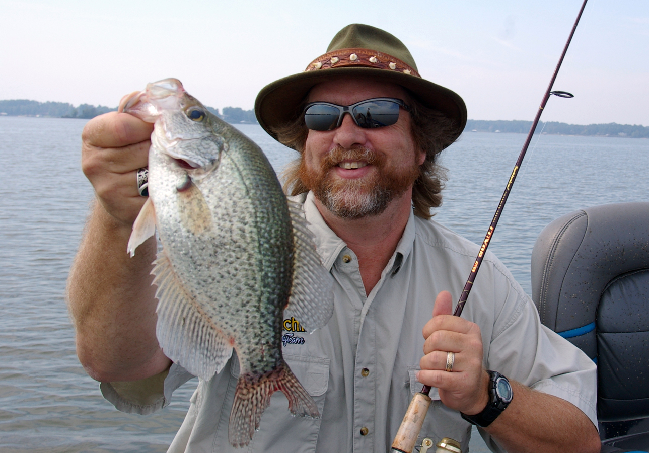 4 principles for catching crappie in muddy water havalon for How to fish for crappie from the bank