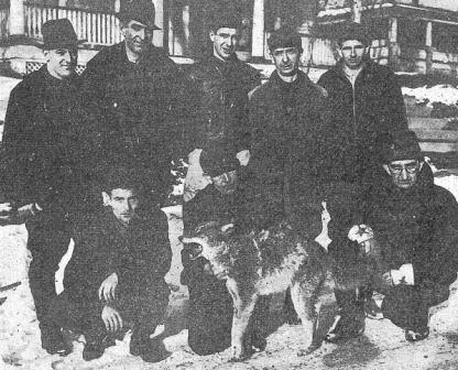 Oil City Bucktails killed a pack of coyotes in Venango County, PA in 1941