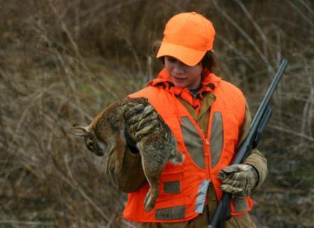 Rabbit hunting works as a great introduction to hunting