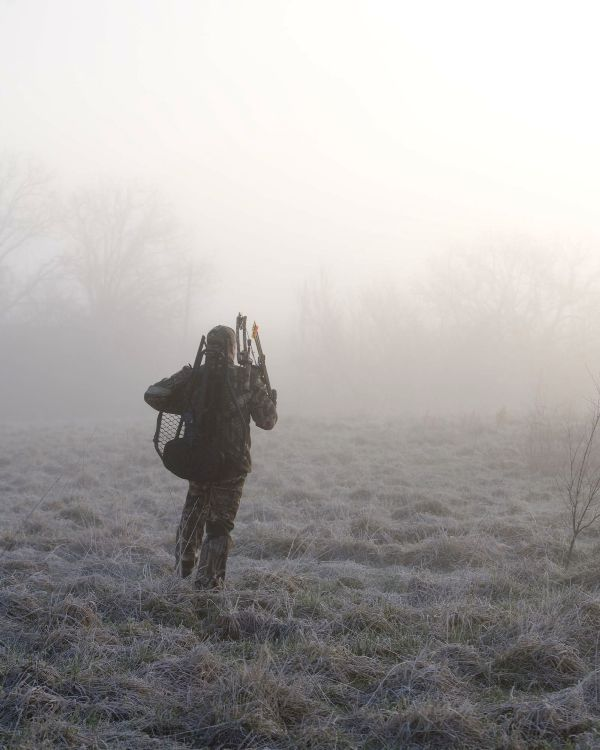Deer Hunting in the Fog