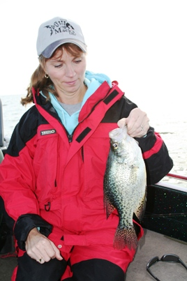 Hunting Ice-Out Crappies By Bernie Barringer Image 2