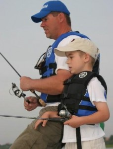 Be sure actually go fishing with the children and not just watch the entire time.