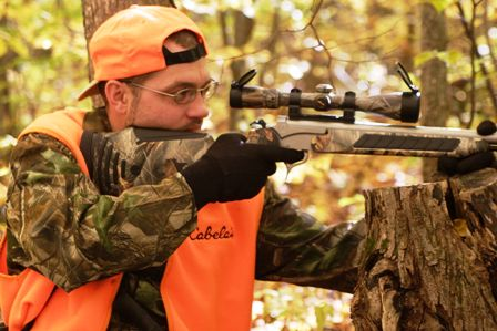 check the sights on your bow or firearm.