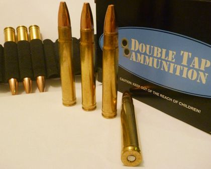 We settled on Double Tap's lightest load for the .416 Remington Magnum.