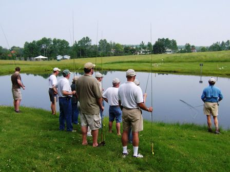 fly casting class at llbean 448x336