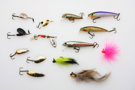 four basic artificial lures 448x299