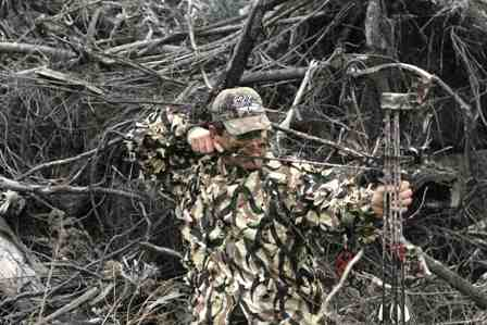 turkey blind in bowhunting blinds hunting deer ground for best min