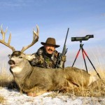 ron spomer with alberta mule deer 2008 448x313