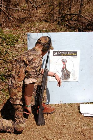 shoot at real turkey target 299x448