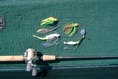 spinnerbait lures for walleye