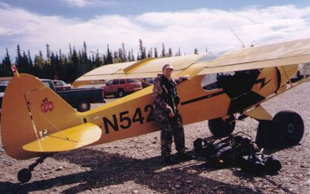 steve-sorensen-and-super-cub-plane