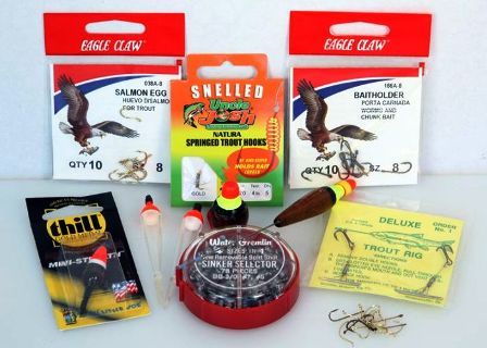 various tackle for bait anglers 448x320